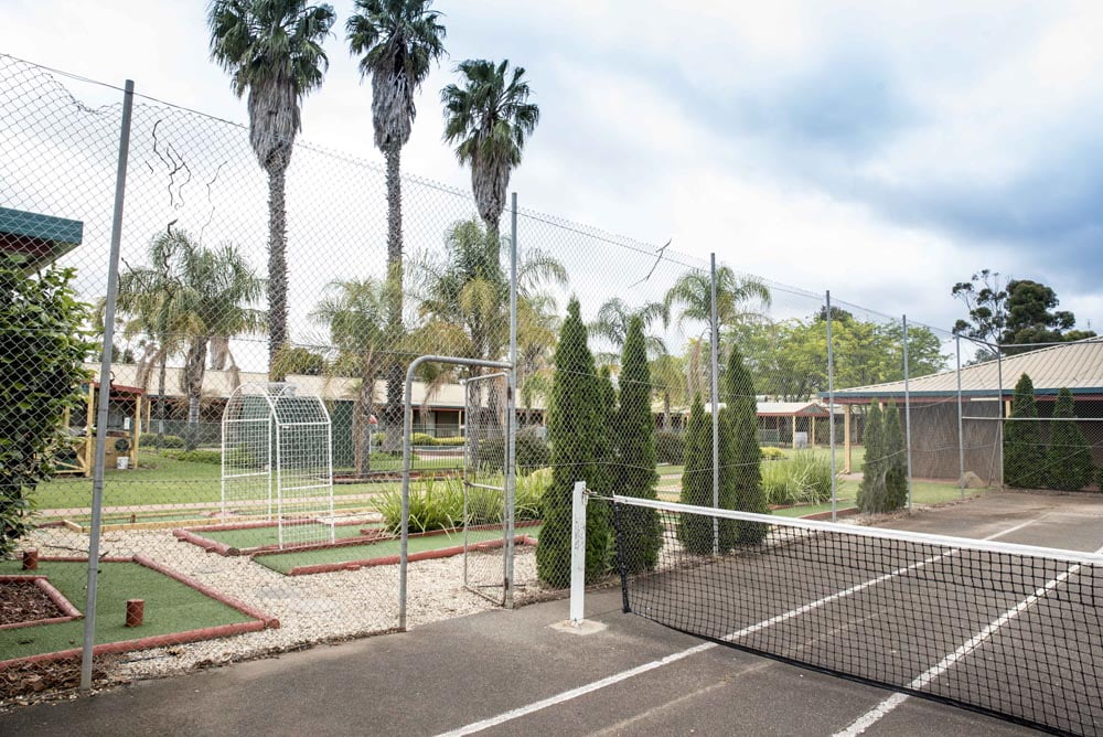 Barooga Country Inn Motel Tennis Court